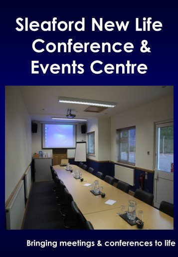 Download the Full Conference Brochure - Sleaford New Life ...