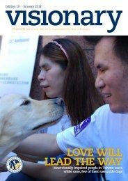 January 2012 Visionary - International Guide Dog Federation