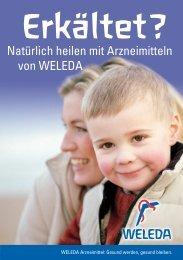 Natürlich heilen mit Arzneimitteln von WELEDA