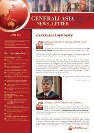 GENERALI ASIA REGIoNAL NEWS - Generali Philippines