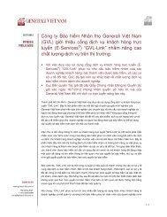 (GVL) giới thiệu cổng dịch vụ khách hàng trực tuyến (E-Ser