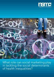 What role can social marketing play in tackling the social ...