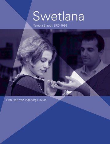 Tamara Staudt. BRD 1999 Film-Heft von Ingeborg Havran