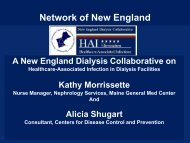 report - ESRD Network of New England