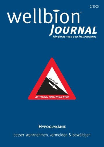 Wellbion Journal 02/2005 [.pdf - 1.4 MB] - WELLION
