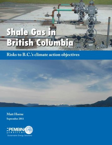 Shale Gas in British Columbia