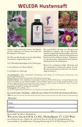 Ausgabe Herbst 2003 - Weleda