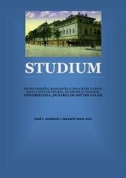 Revista studenţilor, masteranzilor şi doctoranzilor în istorie ...