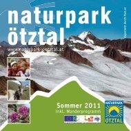 Sommer 2011 - Naturpark Ötztal