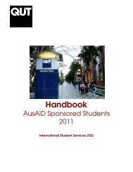 AusAID students' handbook 2011 - QUT