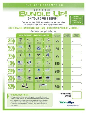 ON YOUR OFFICE SETUP! - Welch Allyn