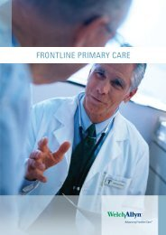 FRONTLINE PRIMARY CARE - Welch Allyn