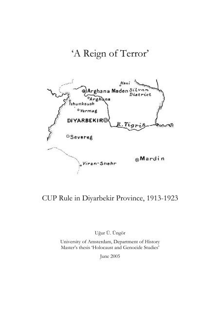 A Reign Of Terror