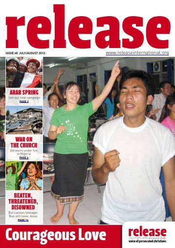 Courageous Love - Release International