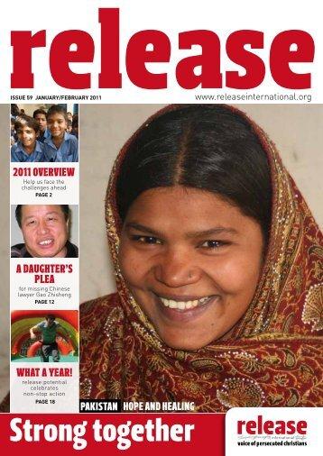 Release 59 web edition (Jan 2011) - Release International
