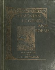 Armenian legends and poems
