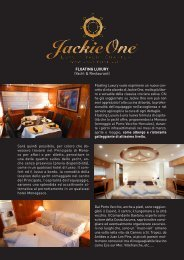 Depliant yacht & restaurant Ita ANNA.indd - IL CHARTER