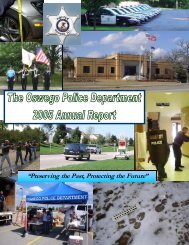 2005 Annual Report - Oswego Police Department