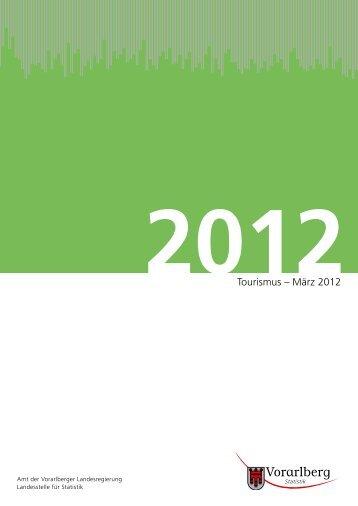 Tourismus – Februar 2012