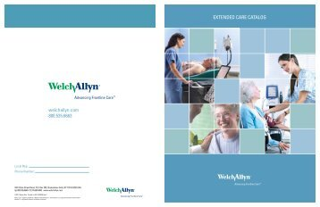 Extended care catalog - Welch Allyn