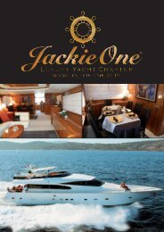 Download listino Yacht and Restaurant - IL CHARTER