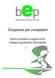 offerta bep per lo sviluppo organizzativo delle aziende