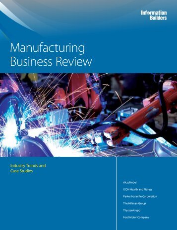 Manufacturing Business Review - we.CONECT