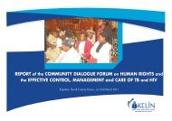 REPORT of the COMMUNITY  DIALOGUE FORUM on HUMAN RIGHTS and the ...