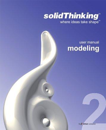 modeling - solidThinking