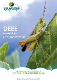 Rapport 2012 - Communauté de Communes de Seille et Mauchère
