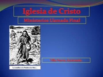 La ruta de los espiritus. - IGLESIA DE CRISTO - Ministerios Llamada ...