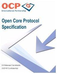 Open Core Protocol Specification - OCP-IP