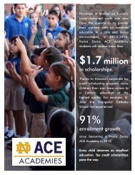 Download a print version of this data. - Alliance for Catholic Education