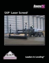 SXP Product Specification - Somero Enterprises