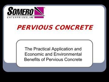 Pervious Concrete White Paper