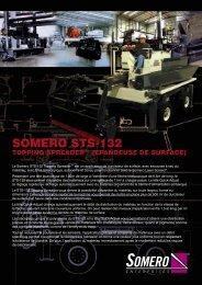 Spécifications du STS-132 Topping Spreader - Somero Enterprises