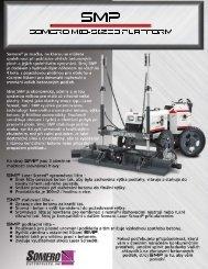 SMP sell sheet front 1-11 czech.psd - Somero Enterprises