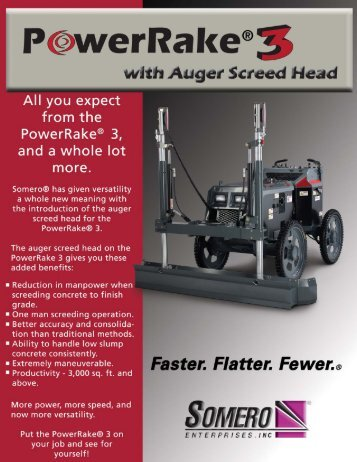 SMP with Auger Screed Head - Somero Enterprises