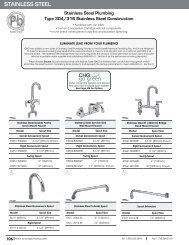 Fisher 69388 SS FAUCET CR 12SS