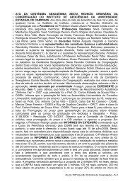 166ª Reunião Ordinária, realizada em 12/12/2007