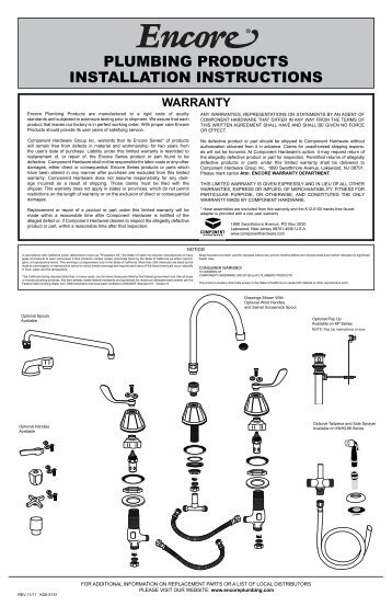 Snowplow assembly procedu plumbing products installation instructions encore sciox Images