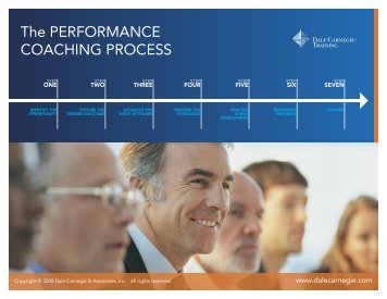 Performance Coaching - sales.dalecarnegie.com