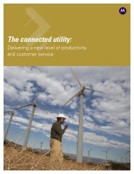 The Connected Utility - Motorola Solutions