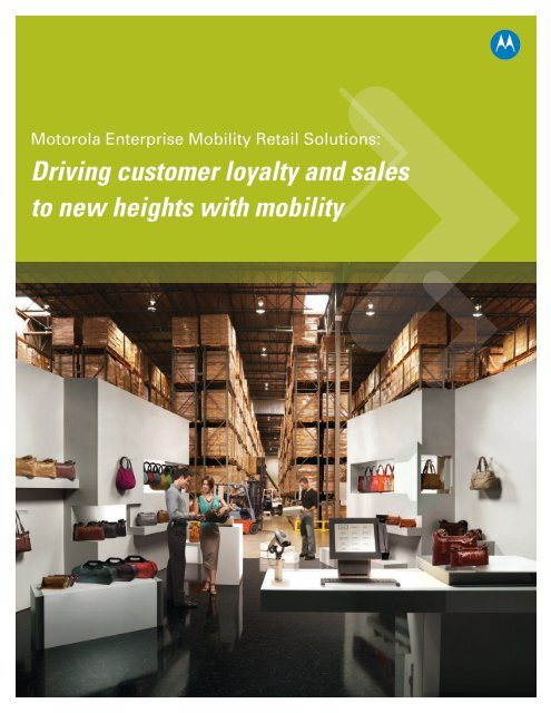 Driving customer loyalty and sales - Brochure to new heights with ...