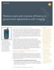 Reduce costs and improve efficiency in government applications ...