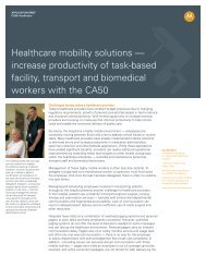 Healthcare mobility solutions — increase productivity of task-based ...