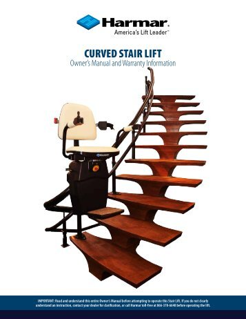 CURVED STAIR LIFT - Harmar