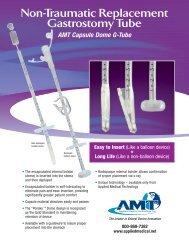 AMT Capsule Dome G-Tube - MetroMed, Inc
