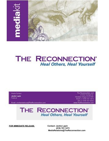 Press Kit - The Reconnection