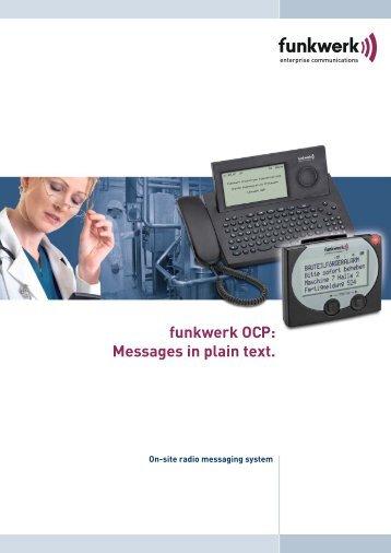 Funkwerk OCP - Disseldorp Techniek